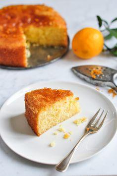 Meyer Lemon Syrup Cake – Eat, Little Bird Mini Desserts, Just Desserts, Delicious Desserts, Yummy Food, Lemon Recipes, Sweet Recipes, Baking Recipes, Cake Recipes, Dessert Recipes