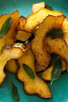 Maple Glazed Roasted Acorn Squash recipe