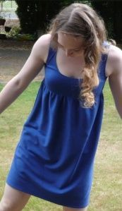 swimsuit cover-up, or nightgown, or summer dress....tutorial