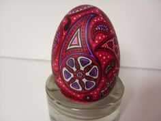 Paisley egg