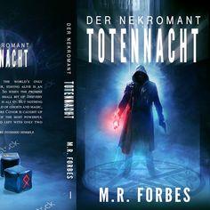 TOTENNACHT need your skill   imagination. Create a book cover for a Dark urban fantasy-horror Novel by Biserka