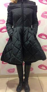 Casaco inverno. Maria Brazão: E este casaco?? Parece um vestido e é muiiito quen...
