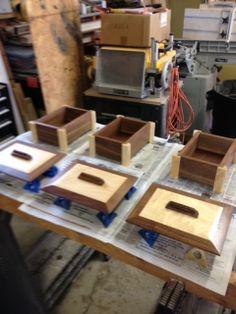 Walnut & Maple Boxes