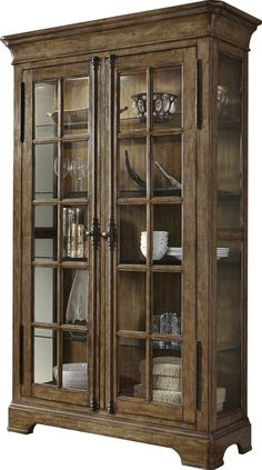 Features: -Newton collection. -Comes with 2 doors and 4 adjustable shelves for storage. Style: -Contemporary/Industrial. Material: -Manufactured wood. Product Type: -Curio cabinet. Design: -Stan