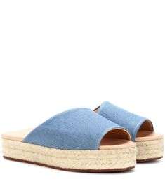 newest 2c599 bcdbe LORO PIANA  Espadrille slides Shoes Sandals Mid-heel LORO PIANA