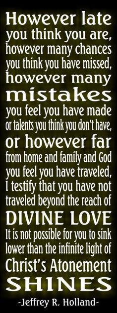 Elder Holland - love him
