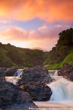 Seven Sacred Pools, Haleakala National Park, Maui, Hawaii