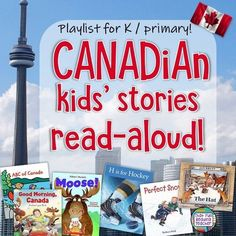 Teaching kids about Canada? Click through for a fun playlist of Canadian kids' stories, read-aloud! Ideal for kindergarten and primary students! Canada For Kids, Canada Eh, Kindergarten Curriculum, Curriculum Planning, Lesson Planning, Ontario Curriculum, Map Skills, Teaching Resources, Teaching Ideas