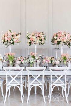 decoración de bodas de color Melocotón y Rosa 3