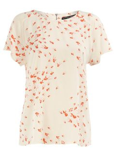 Love this cute fish print top from Dorothy Perkins