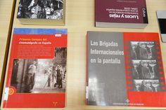 El Cine Español en la Biblioteca de la Facultad de Empresa y Gestión Pública (Huesca). Exposición bibliográfica del 13 de junio al 29 de julio de 2016.