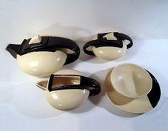 cerâmica modernista em portugal: Serviço de chá - GAL
