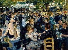 Au Moulin de la Galette, 1876 // by Pierre-Auguste Renoir