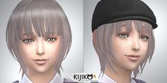 Sims 4 CC's - The Best: Kids & Toddlers Hair by Kijiko