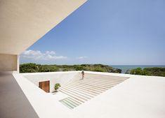 Views of the stunning terrace overlooking the ocean