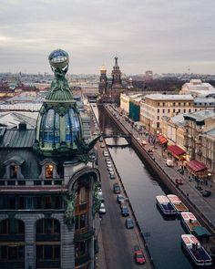 Канал Грибоедова.    Автор фото: Михаил Зефиров (Zefirovm).