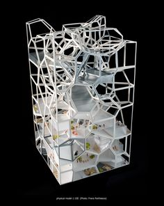 Vertical Village maqueta