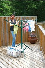 Easy Fold Away Portable Laundry Hanger. This Very Portable Outdoor Clothes  Dryer Is Perfect To