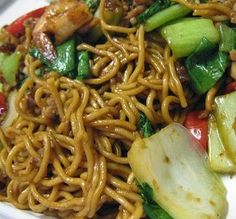 recept bami goreng,bami goreng met kip en paksoi,Indonesian bami goreng recipe,world kitchen,worldrecipes,wereldkeuken recepten,bami recept,Indonesische recepten,recepten bami goreng