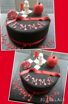 Twilight themed birthday cake