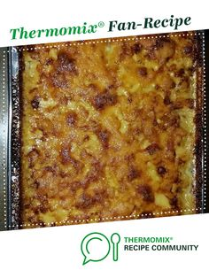 Recipe Potato Bake by learn to make this recipe easily in your kitchen machine and discover other Thermomix recipes in Side dishes. Tasty Potato Recipes, Savoury Recipes, Potato Dishes, Food Dishes, Side Dishes, Creamed Potatoes, Food N, Main Meals, Spreads