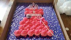 Prinsessen cupcaketaart