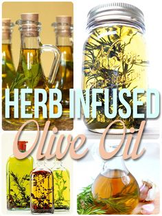 Herb Infused Olive Oil!