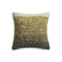 "Arlo Yellow 20"" Pillow"