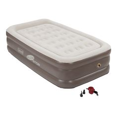 Coleman Supportrest Plus Pillowtop Twin Double High Airbed Multicolor