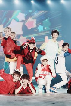 EXO, i like how sehun and tao look here:P