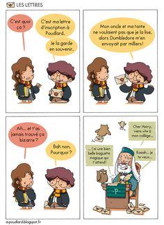 À Poudlard / At Hogwarts - Harry Potter Parody: Les lettres / The letters