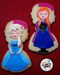 Elsa Anna (Frozen) | Cookie Connection