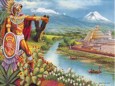 Cuauhtemoc. Aquí descansan los restos del último emperador azteca