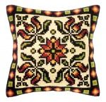 Cross Stitch Pillow, Cross Stitch Rose, Cushion Embroidery, Hand Embroidery, Cross Stitch Designs, Cross Stitch Patterns, Pillow Mat, Bargello, Cross Stitching