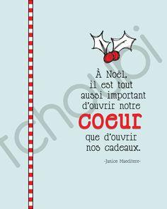 A partager... Tchoubi ::: Petites histoires créatives: Citations de Noël / Affiches
