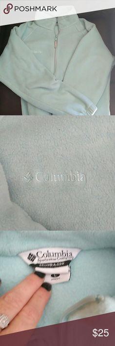 Aqua colored Columbia jacket Columbia jacket Columbia Other