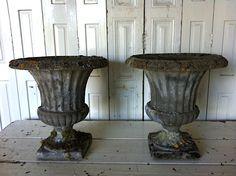 Concrete Garden Urns