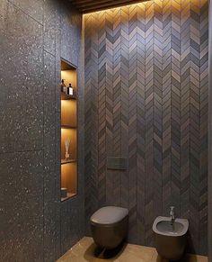 Home Interior Decoration Bathroom Design Luxury, Modern Bathroom Decor, Bathroom Layout, Modern Bathroom Design, Bathroom Styling, Bathroom Lighting, Colorful Bathroom, Bathroom Trends, Bathroom Ideas