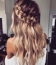 fishtail braids, medium length hair, waves, easy hairstyles, hairstyles for medium length hair, no heat hairstyle