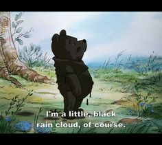 black rain cloud, so going to watch this with Mona today <3