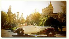 Weddings in Slovakia make a fabulous choice if you're looking for a wedding abroad country full of soaring mountains, ancient villages, history, tradition, music and entertainment. Married Abroad, Wedding Abroad, Got Married, Antique Cars, Castle, Weddings, History, Country, Beautiful