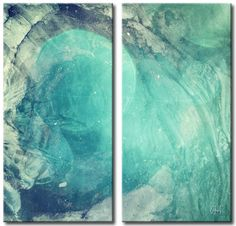 Abstract ABS XIV 2 Piece Painting Print on Wrapped Canvas Set