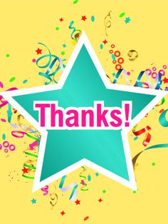 Lively Thank You Card. Any help is worth celebrating, but don't celebrate alone! Thank your co-worker for helping you finish an assignment or your neighbor for helping you around the house. The task is done because you worked together, and now it's time to enjoy your free time! Share a moment of happiness of a job well done and send them this thank you card today!