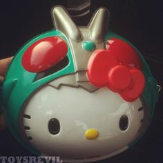 About That Hello Kitty x Kamen Rider Mask