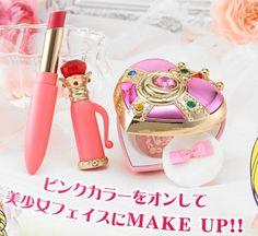 Sailor Moon Sailormoon Cosmic Heart Cheek and Rouge Lipstick Set Miracle Romance #BANDAISailorMoon