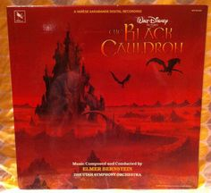 SEALED Disney The Black Cauldron Soundtrack LP by chezToulouse