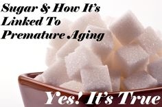 Cutting out excessive sugar may help you stay looking young longer, and make your skin look much better! Has anyone tried this?