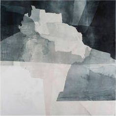 From Kathryn Markel Fine Arts, Eric Blum, Untitled No. 734 Ink, beeswax and silk on panel, 40 × 40 in Monochromatic Paintings, Deco Paint, Art Asiatique, Watercolor And Ink, Sculpture Art, Canvas Wall Art, Abstract Art, Abstract Paintings, Art Paintings