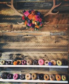 13 Wedding Doughnut Walls That Will Make You Want ALL The Doughnuts  SHESAID United States