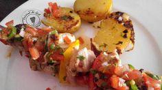 Brochettes de filet mignon sauce agrio1
